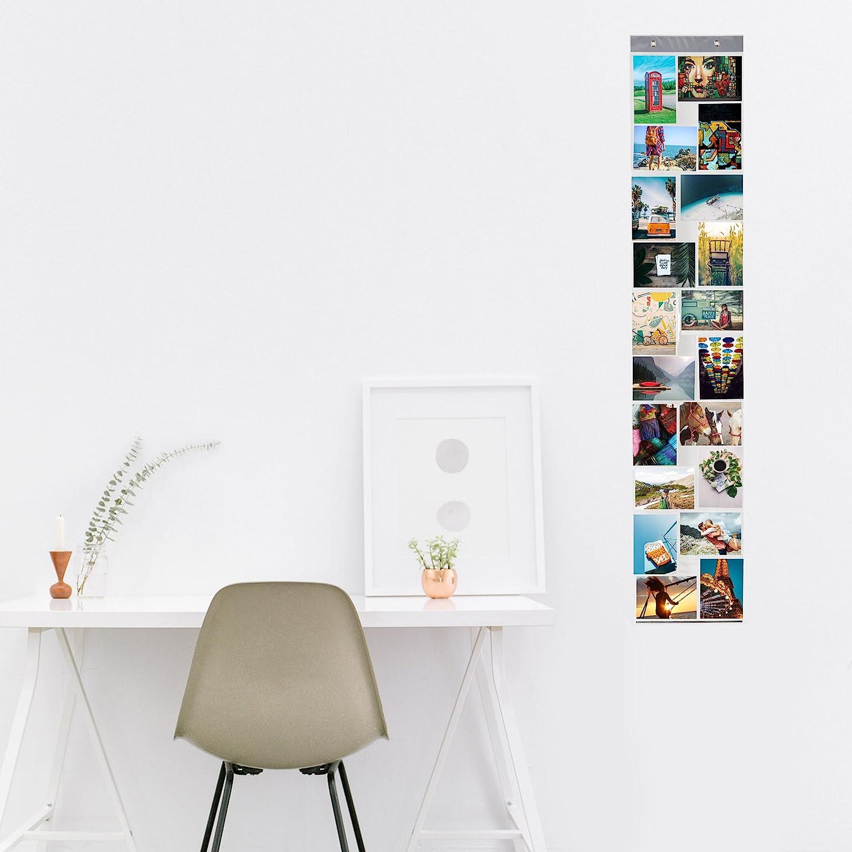 Lumaland Porte-Photos Collage pour Images et Photos diff/érentes Tailles 7 Poches