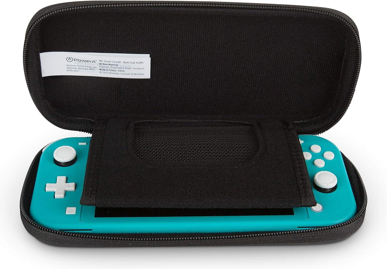 PowerA - Kit de estuche discreto para Nintendo Switch Lite: Amazon.es: Videojuegos