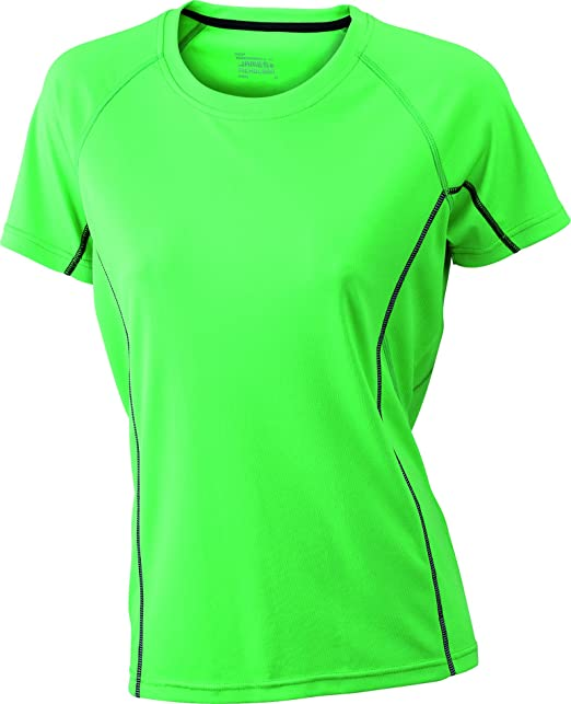 2Store24 Camiseta Running con Detalles Reflectantes Camiseta Tecnica Mujer T-Shirt: Amazon.es: Ropa y accesorios