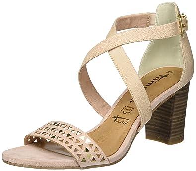 49b345714f0d Tamaris Damen 28009 Offene Sandalen  Amazon.de  Schuhe   Handtaschen
