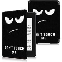 KOMI Etui ochronne ze skóry PU kompatybilne z czytnikiem e-booków Kindle Paperwhite 4 (wersja 10. generacji, wersja 2018…
