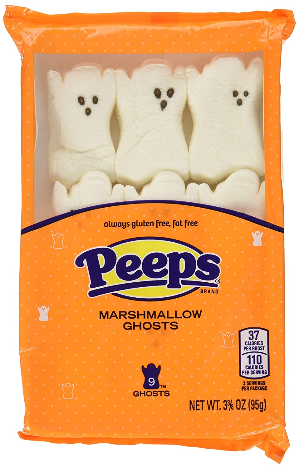 Ghosts Marshmallow Peeps 9ct.