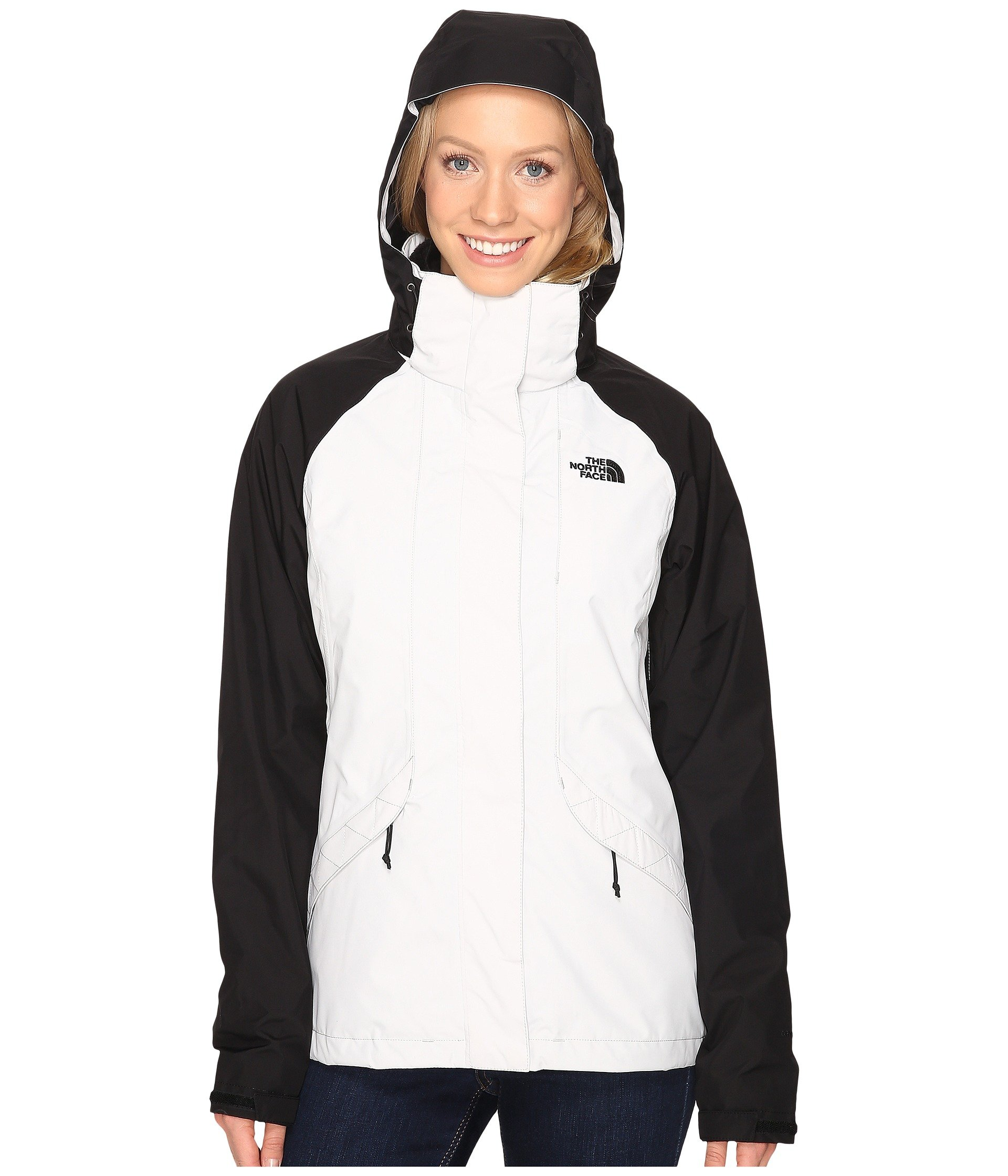 North Face Womens Boundary Triclimate Jacket - Large - Lunar Ice Grey/TNF Black by The North Face (Image #6)