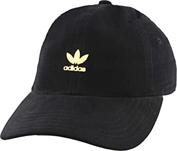 adidas Womens Originals Metal Logo Relaxed Adjustable Strapback ...