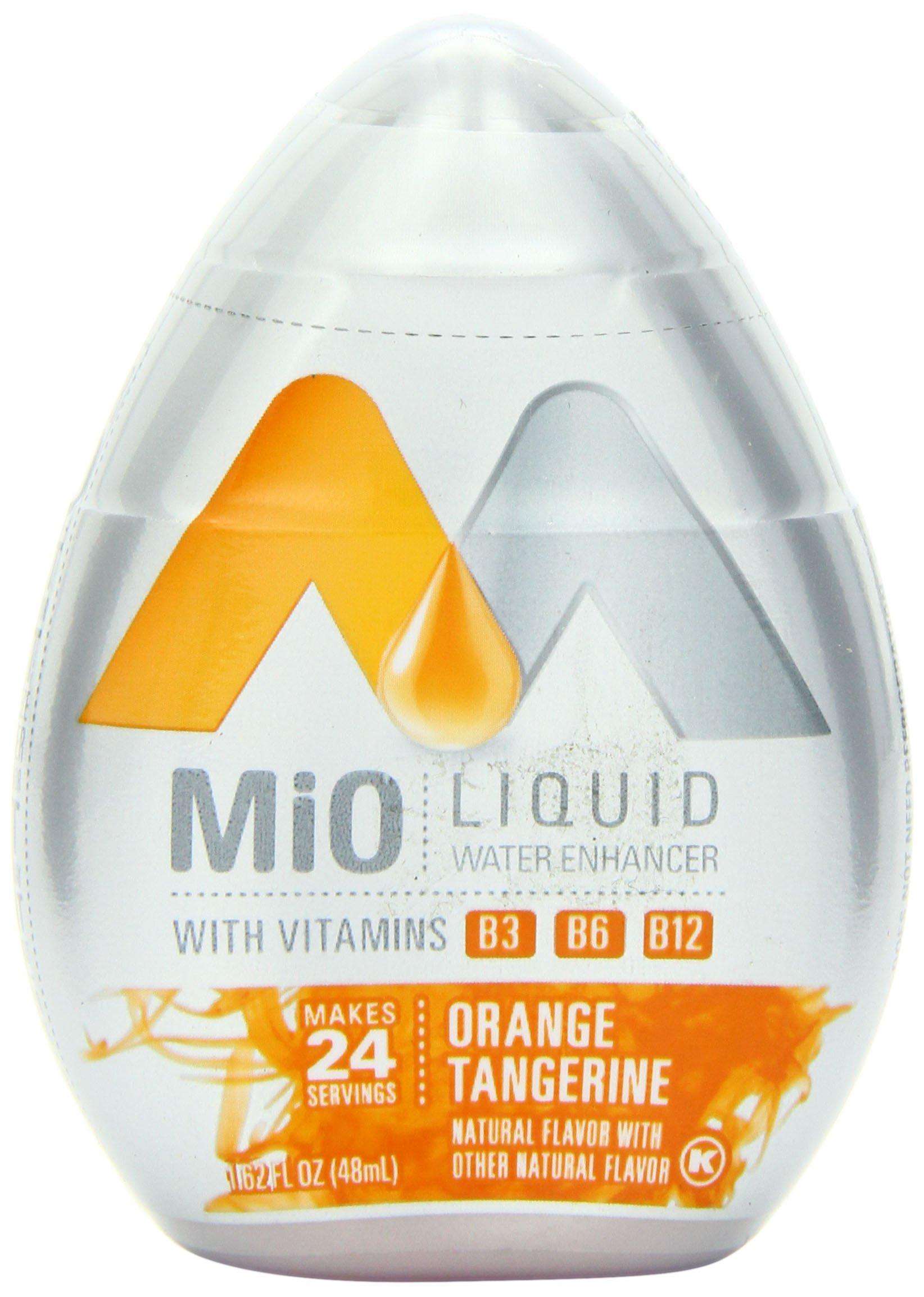 MiO Liquid Water Enhancer, Orange Tangerine, 1.62 Ounce