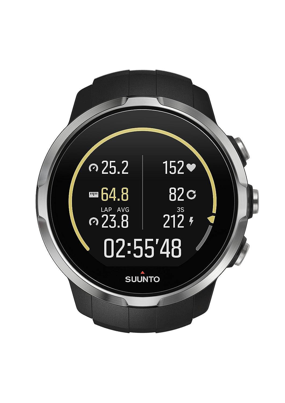 Suunto Spartan Sport HR - Reloj GPS para Atletas Multideporte, 10 h Batería, Resistente al agua, Pantalla Táctil en Color, Negro, SS022649000