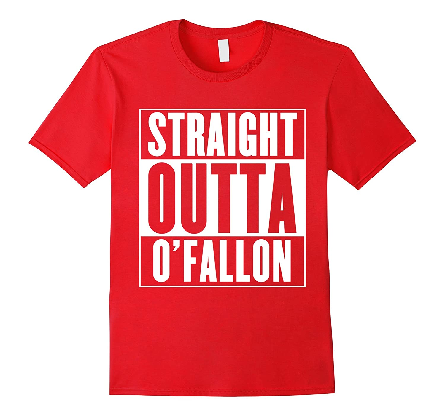 Straight Outta O'Fallon T-Shirt-FL