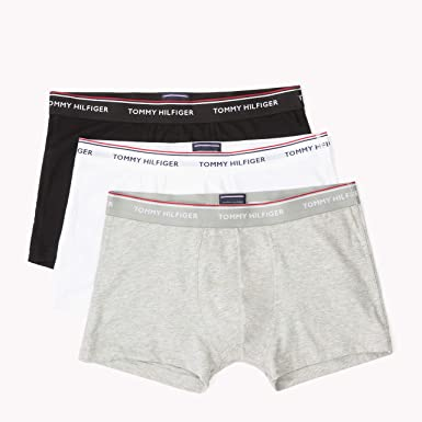c171d3e0b5e128 Tommy Hilfiger 3-Pack Premium Men s Boxer Trunks