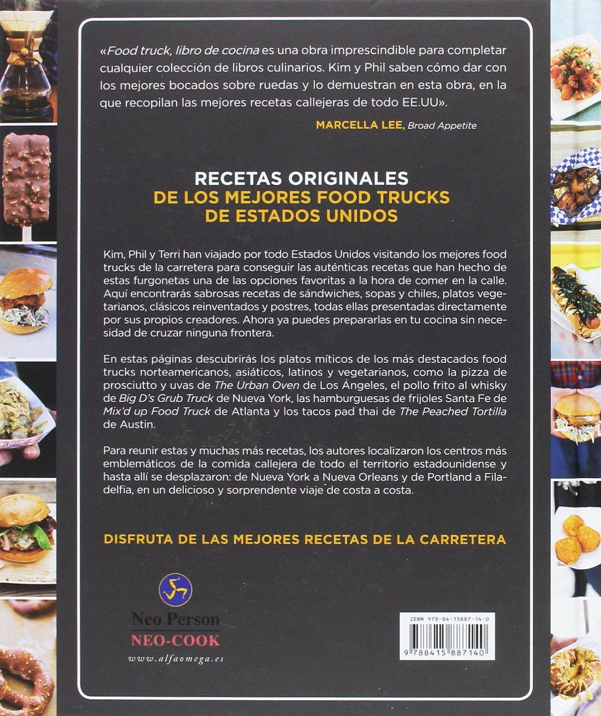 Food Truck. Libro de cocina. Las mejores recetas de la carretera Neo ...