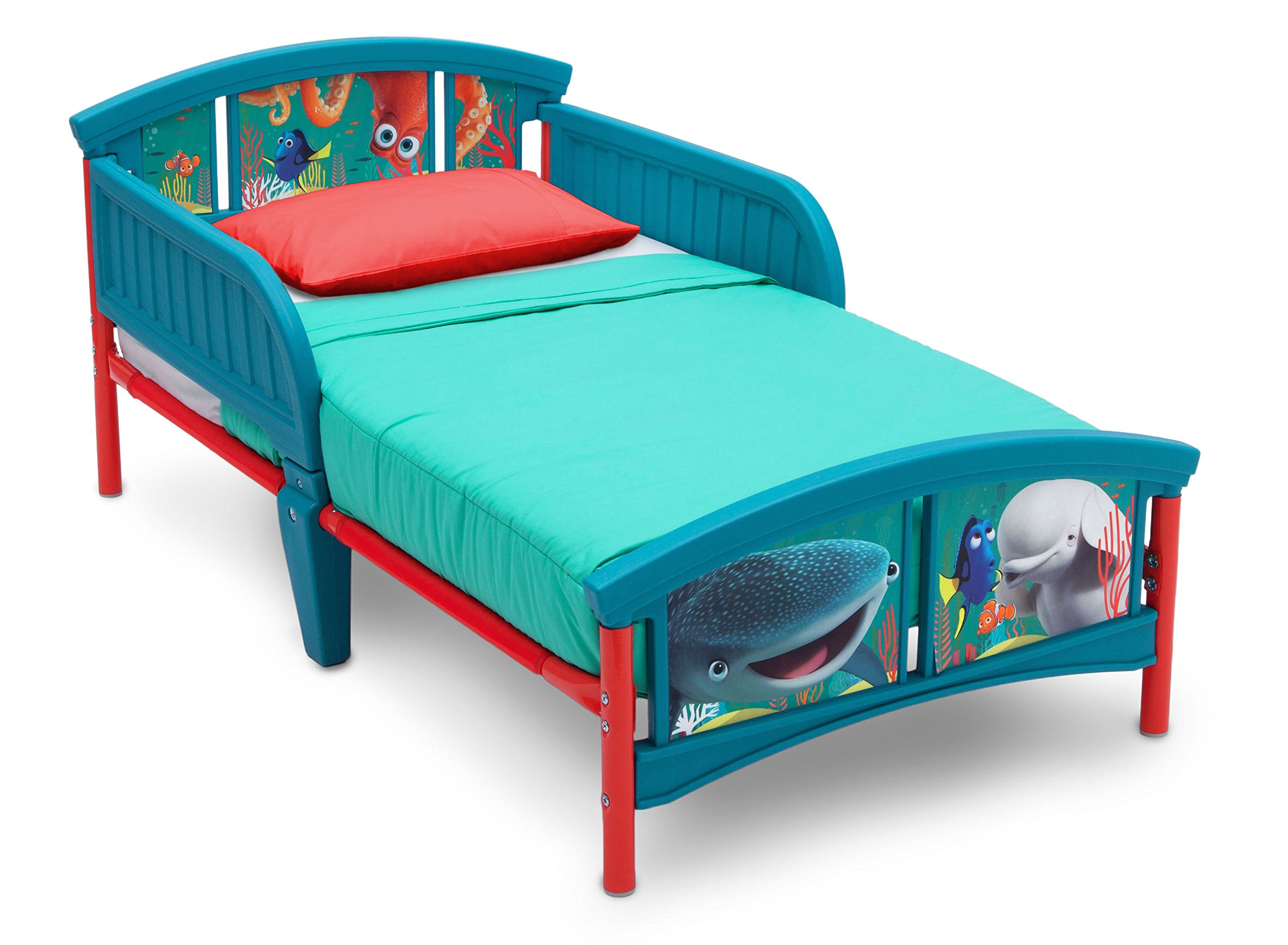 Delta Children Plastic Toddler Bed, Disney/Pixar Finding Dory