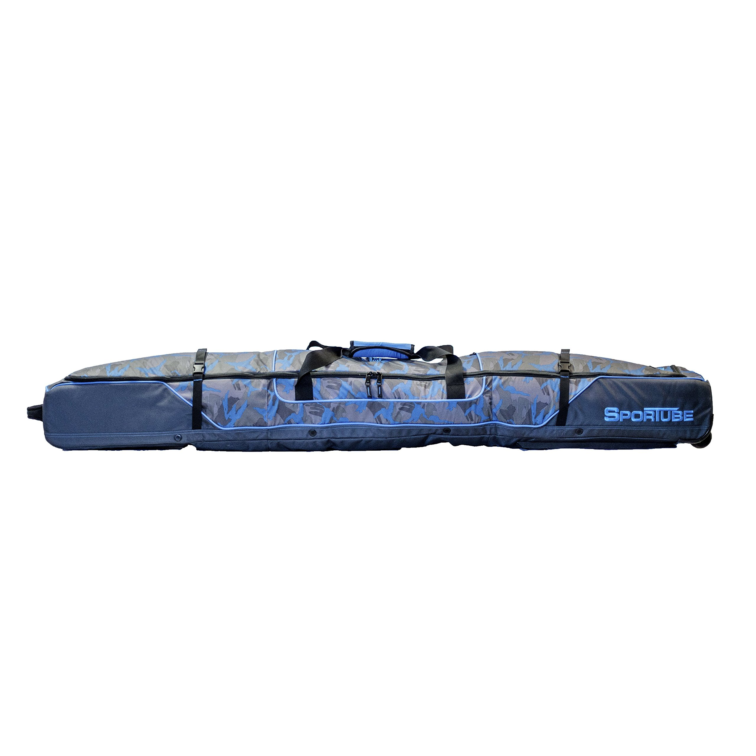 Sportube Ski shield Double Padded Ski Bag with Gear shield Camo