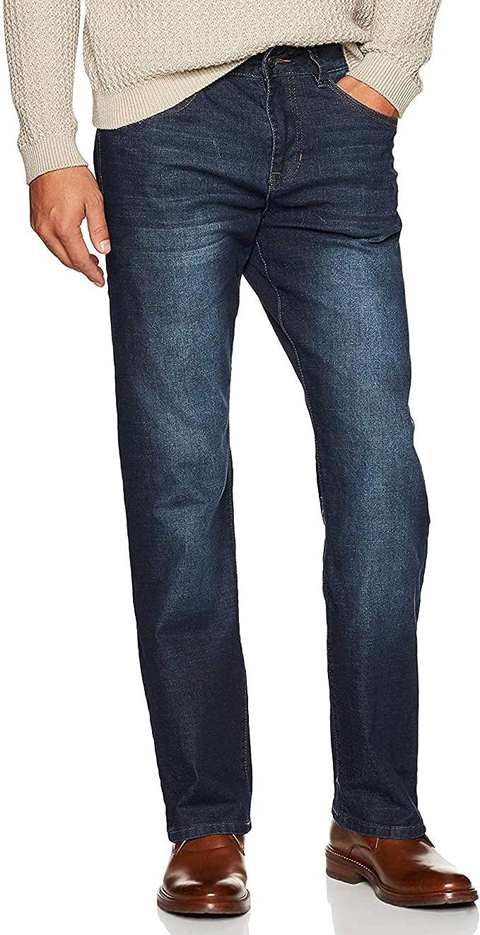 great fit wide varieties shop best sellers IZOD Men's Comfort Stretch Denim Jeans (Relaxed Fit)