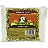 "Happy Hen Treats 6.5 oz. Square, Mealworm and Corn, 4.25"" by 4.25"" by 1.25"""
