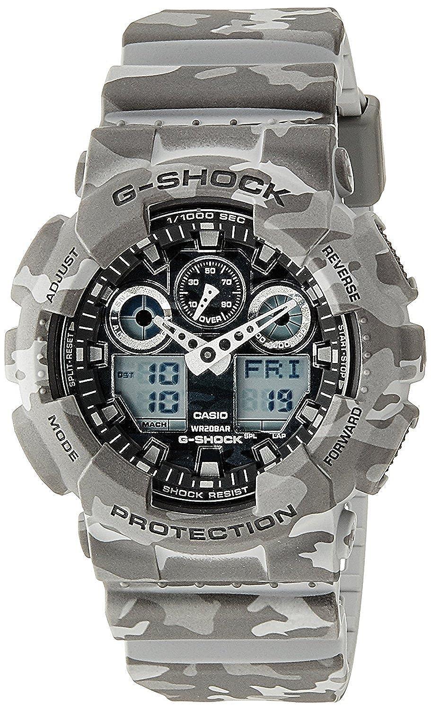 Casio Watch G Shock Camouflage Series Ga 100cm 8a Mens 110gw 7a Watches