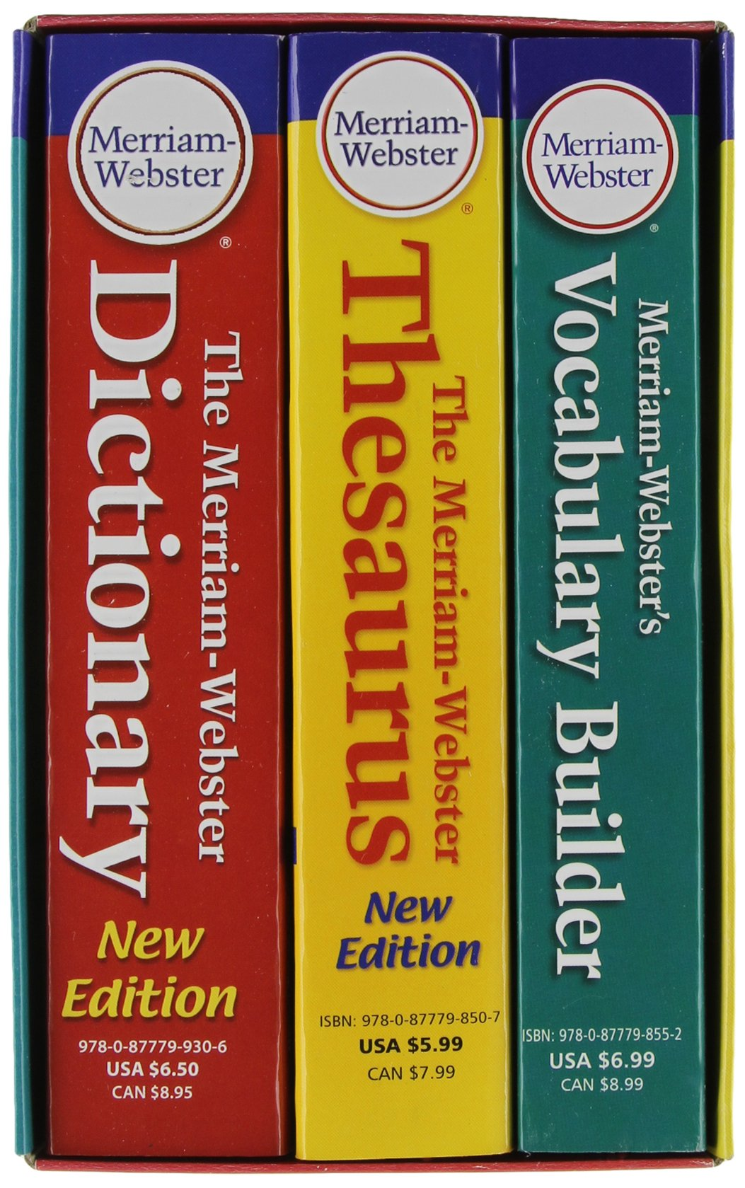 Merriam-Webster's Everyday Language Reference Set: With New Vocabulary Builder Paperback – May 1 2010 Merriam-Webster Inc. 0877798753 General ELT Course Materials