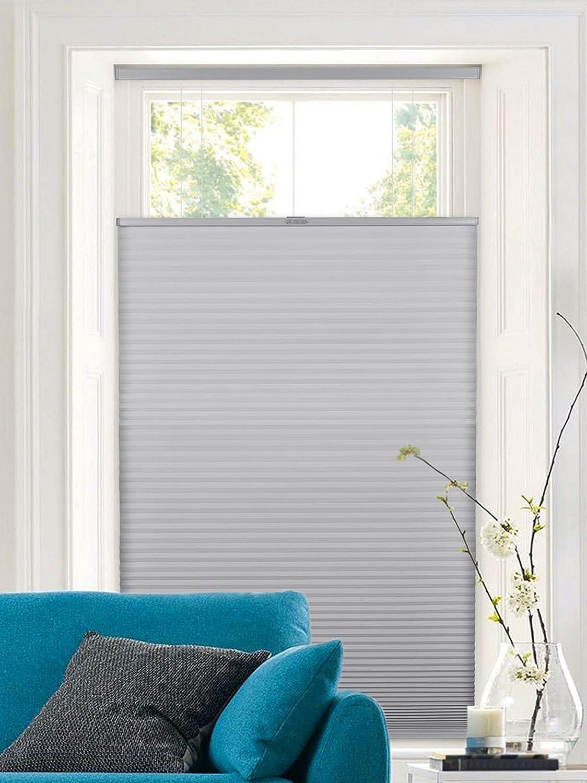 Calyx Interiors A04HUF240600 window-treatment-honeycomb-shades, Gray