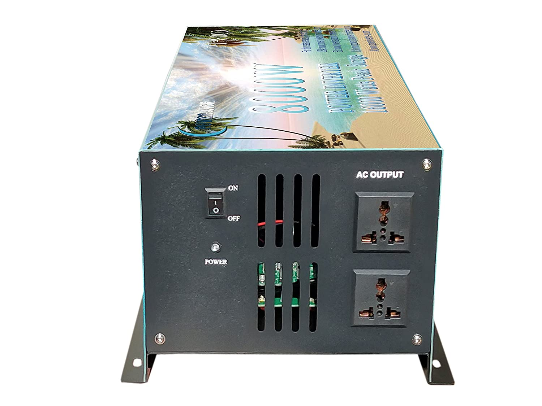 Convertitore di tensione 8000W Convertitore di potenza Convertitore da DC12V a AC 230V convertitore