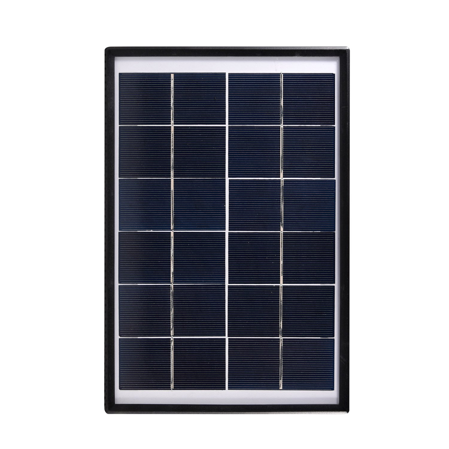KK.BOL Portable Solar Panel for Portable Light Bulb Solar Powered Led Solar Lamp Led Night Light (27X18cm 6.0W Waterproof))