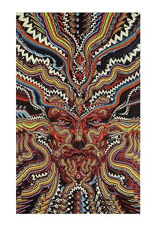 Comvip Mandala Wandteppich Hippie Turquoise Wandbehang Wandtuch