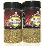 McCormick Grill Mates Brazilian Steakhouse Seasoning, 6.5 ounce (Pack of 2)
