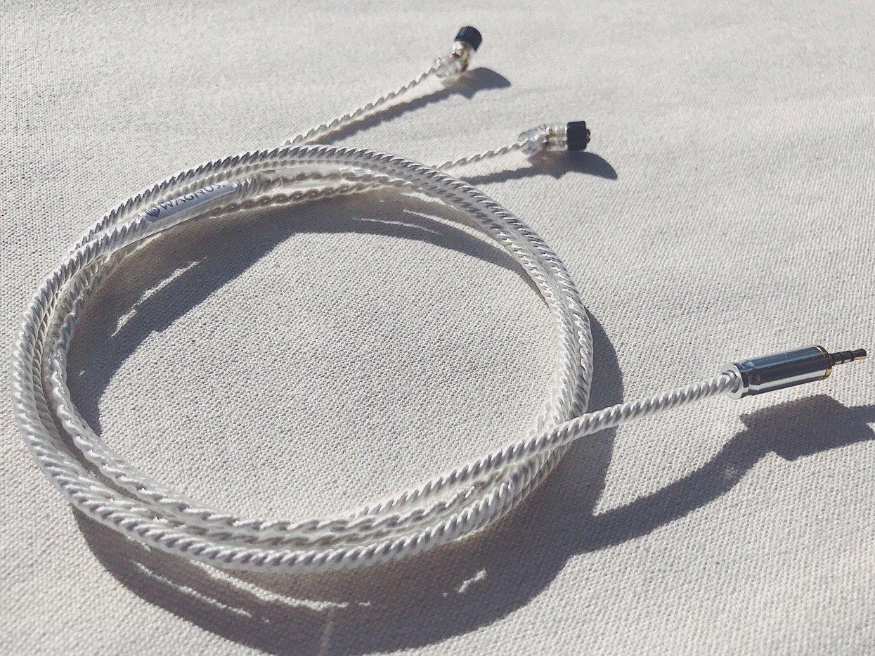 Wagnus。FlagshipイヤホンオーディオアップグレードケーブルReケーブルFrosty Sheep – Mastering edition- 3.5 MM 3pole single-end jh4pinタイプno変数Bassコントロール B071F8M9W2