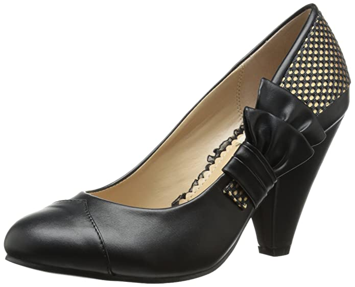 Bettie Page Womens BP403-Ella Dress Pump  AT vintagedancer.com