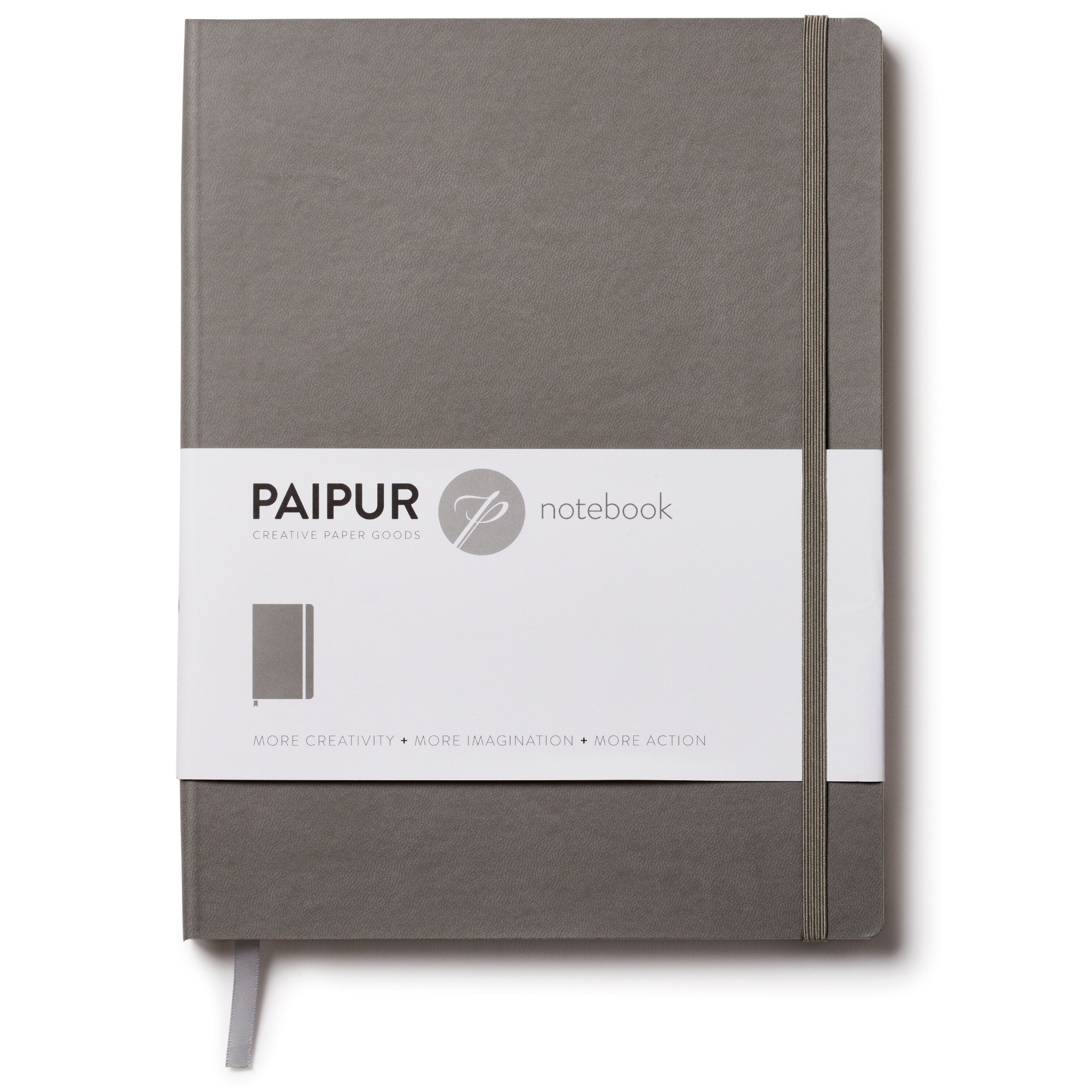 PAIPUR Fountain Pen Edition Notebook ~ LARGE 9.75'' x 7.5'' Size in Choice of 3 Different Formats ~ Classic Style Softcover ~ Premium 120GSM Paper for All Pens with No Bleed by PAIPUR