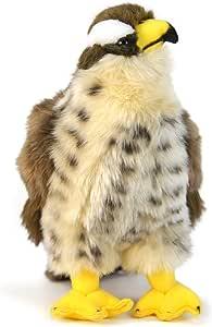 Percival The Peregrine Falcon - 9 Inch Hawk Stuffed Animal Plush Bird - by Tiger Tale Toys