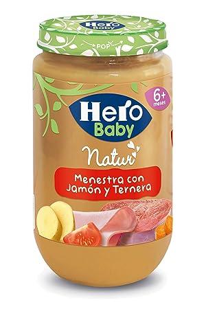 Hero Baby Menestra de Verduras Jamón y Ternera - 235 g: Amazon.es: Amazon Pantry