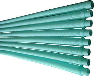 FibroPool Automatic Pool Cleaner Vacuum Hose for Kreepy Krauly Replacement (8 Pack)