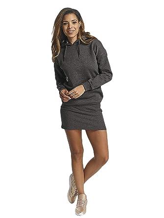 DEF Damen Kapuzenkleid Sweatkleid Hoodiekleid  Amazon.de  Bekleidung b498fdffc6