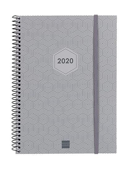 Finocam - Agenda 2020 semana vista vertical Espiral Futura ...