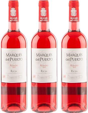 Sanders Selection Marqués del Puerto Rosado Vino: Amazon.es ...