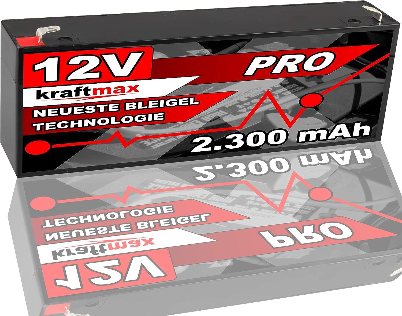 Kraftmax Industrial Pro Bleiakku Agm Hochleistungs Elektronik