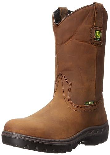 John Deere Men's Low ... Waterproof Steel-Toe Boots clearance clearance store p1BxB