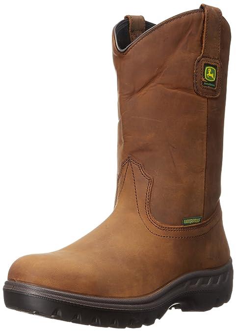 John Deere - Botas Hombre, Color marrón, Talla 46.5 EU F