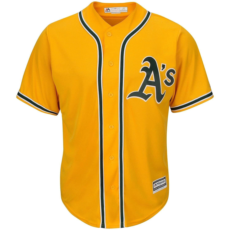 Oakland Athletics空白イエローInfants代替クールベースレプリカジャージー B0722HVGHF   24 Months