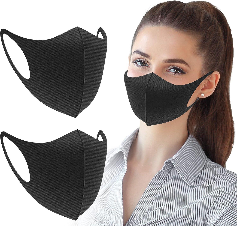 4 pieces Unisex Carbon Fiber Face Outdoor Anti-Haze Face Durable Breathable Lightweight Face Shield Dust Mouth
