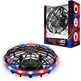 Force1 Scoot LED Hand Operated Drones for Kids or Adults - Hands Free Motion Sensor Mini Drone, Easy Indoor Small UFO Toy Fly