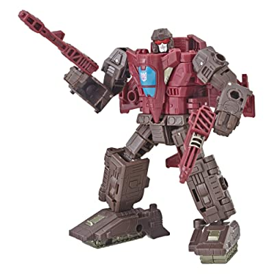 Transformers Generations War for Cybertron: Siege Deluxe Class Wfc-S7 Skytread Action Figure: Toys & Games