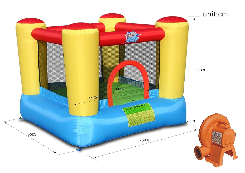 Acción Air - 9402 - área de Juego Hinchable: Amazon.es: Juguetes y juegos