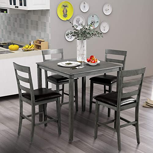 Editors' Choice: Bellemave 5 Piece Counter Height Dining Set