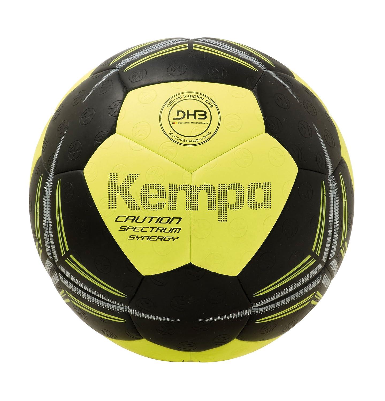 Kempa Spectrum Synergy Caution Balón de Juego, Unisex, Negro ...