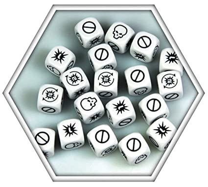 Halo: Fleet Battles Combat Dice Blister HFEX01 (24 Dice Pack)