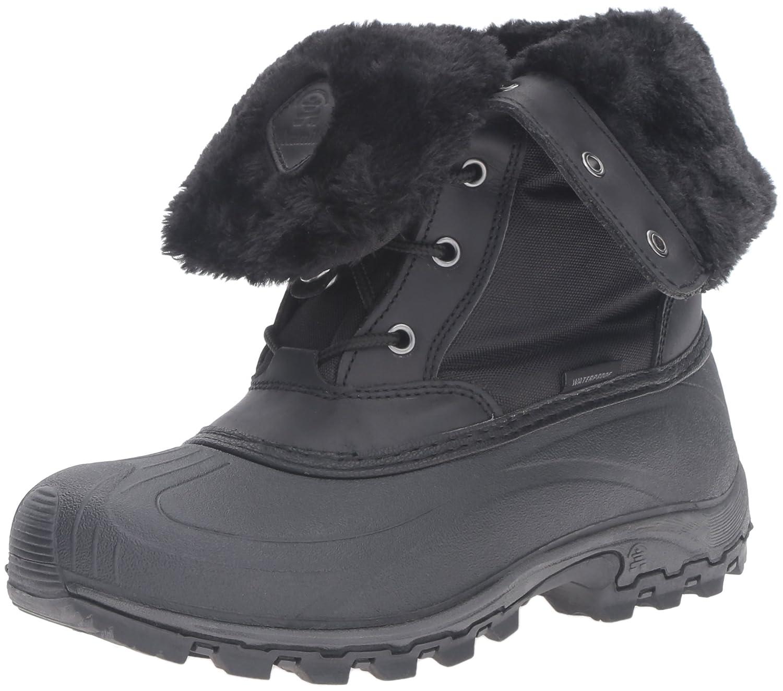 Kamik Women's Harper Snow Boot B0198WB1O4 8 B(M) US|Black