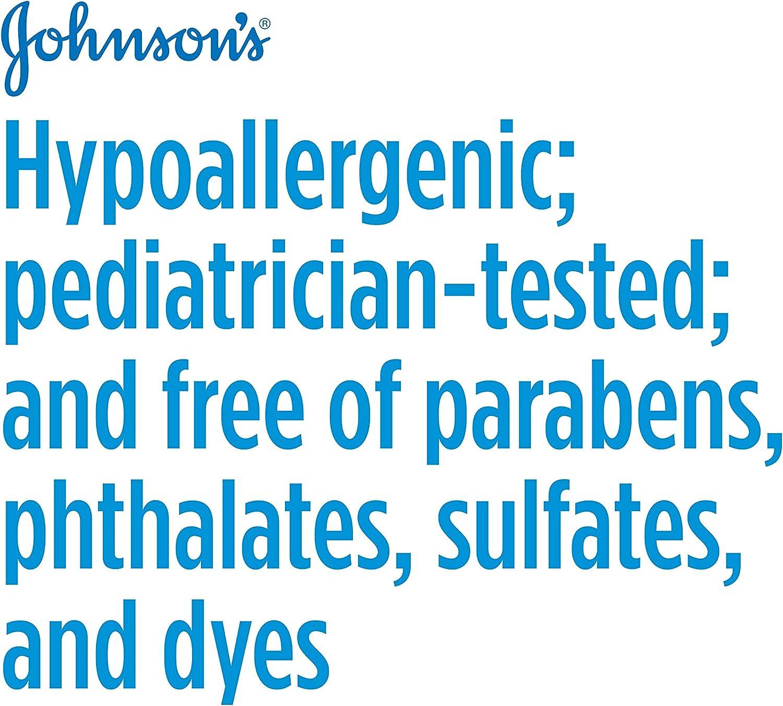Johnson's Tear Free Baby Shampoo, Free of Parabens, Phthalates, Sulfates and Dyes, 13.6 fl. oz