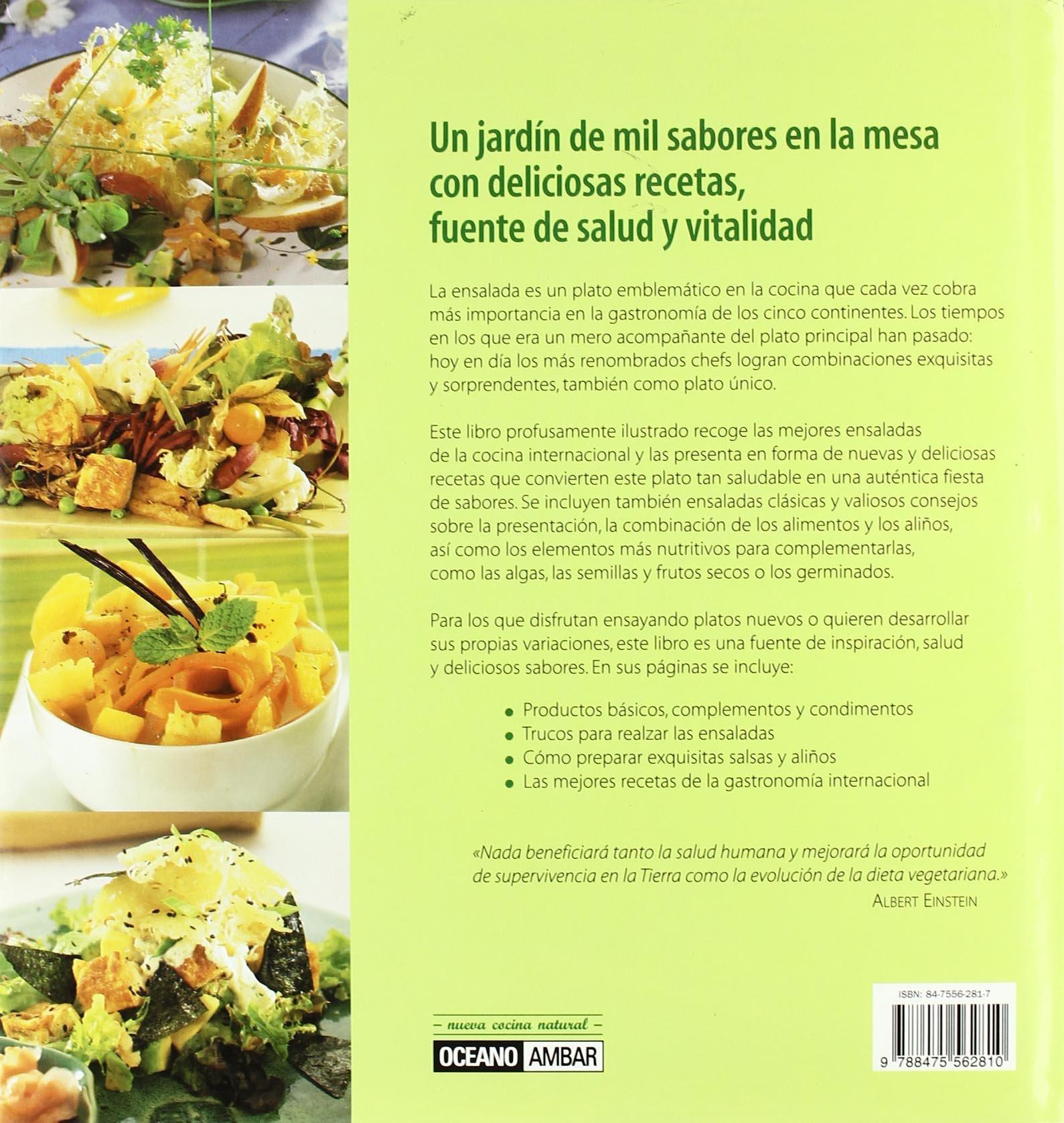 Ensaladas únicas: Las mejores ensaladas de la cocina internacional Cocina natural: Amazon.es: Adriana Ortemberg: Libros