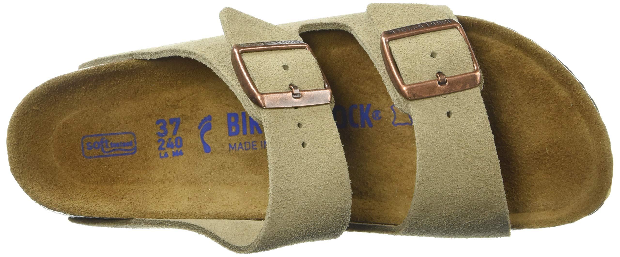 Birkenstock Arizona Soft Footbed Taupe Suede Regular Width - EU Size 35 / Women's US Sizes 4-4.5 by Birkenstock (Image #8)