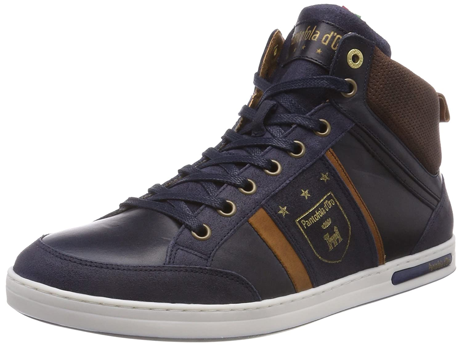 Mondovi Collo Pantofola Amazon Sneaker a Alto Uomo it d'Oro Mid 5qqYT