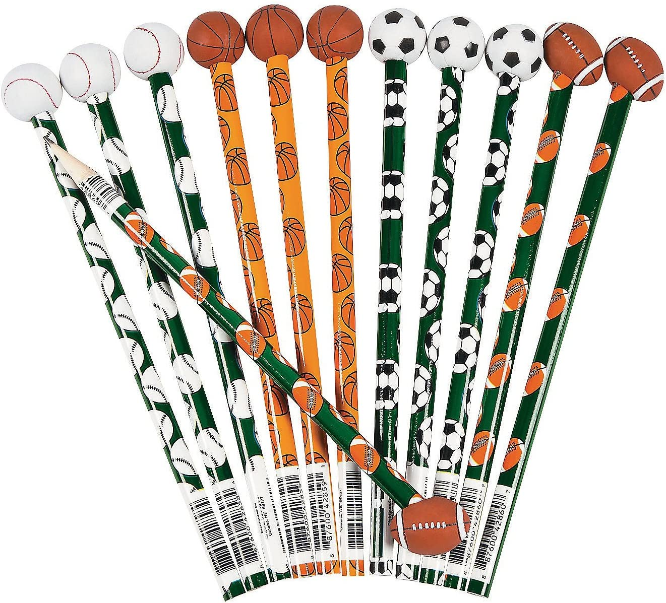 U.S 12 Pack Toy Childrens Basketball Drawing Pencils
